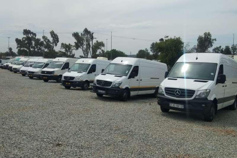 Mercedes Benz LDVs & panel vans SPRINTER  CRAFTER  IVECO PANELVAN 2012