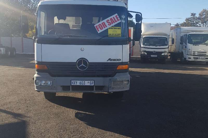 Mercedes Benz Refrigerated trucks CLEARANCE SALE NOW ON   Mercedes Benz Atego Fridge 2002