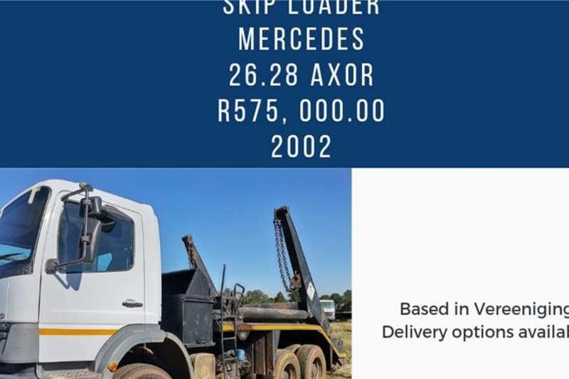 Mercedes Benz Mercedes Benz 2628 Skip bin loader trucks