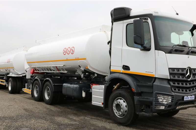 Mercedes Benz Tanker trucks 3345 Actros 2019