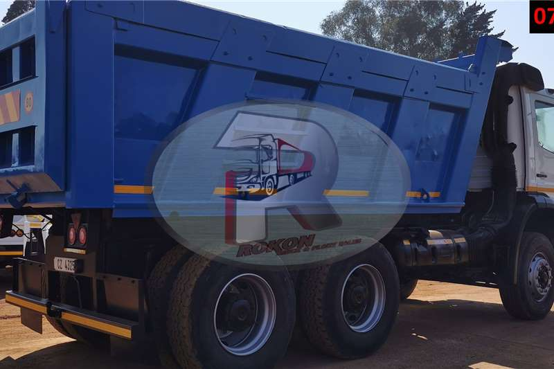 Mercedes Benz ATEGO 10 CUBE Tipper trucks