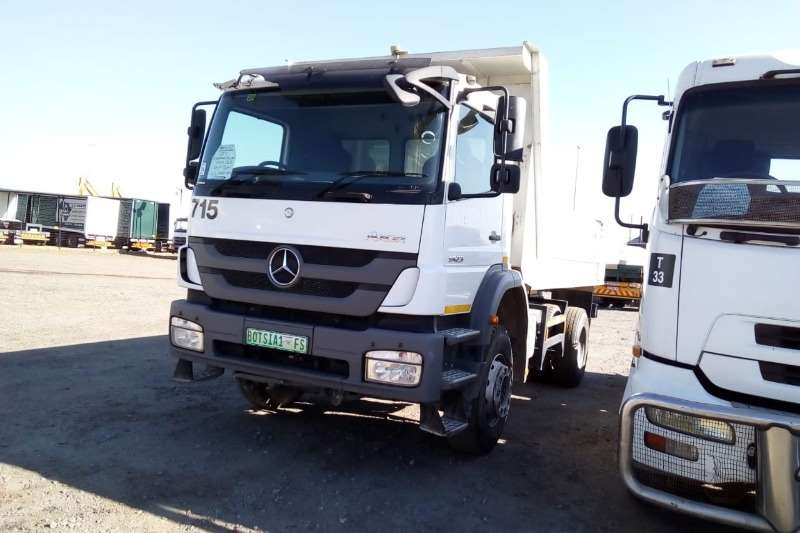Mercedes Benz Tipper trucks AXOR 1823 6m3 Tipper 2017