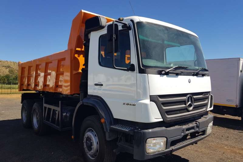 Mercedes Benz Tipper trucks Axor 2628 10 cube tipper 2005