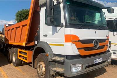 Mercedes Benz AXOR 2628 10M3 TIPPER Tipper trucks