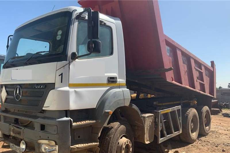 Mercedes Benz Tipper trucks Axor 33 35 (12 cube) View by appointment 2008