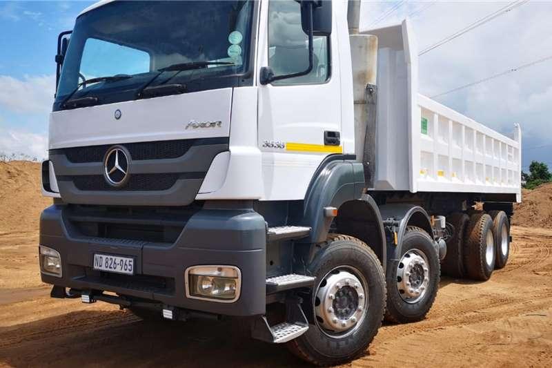 Mercedes Benz Tipper trucks Axor 3535 Twinsteer 2012