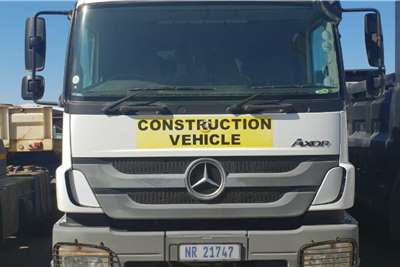Mercedes Benz Tipper trucks Used Mercedes Benz 2628 Axor Tipper