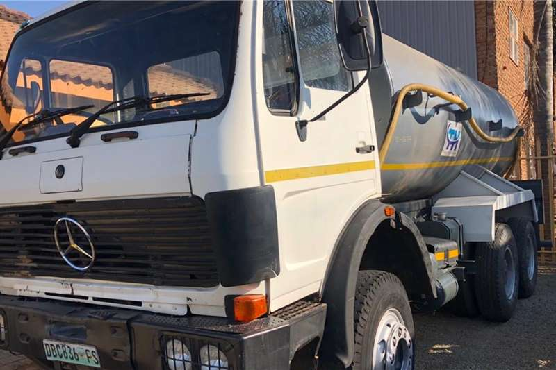 Mercedes Benz Truck 16000 Ltr Tanker 1988