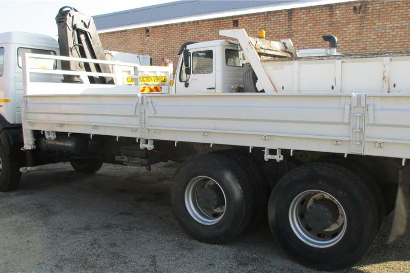 Mercedes Benz 26 24 Ridgid Crane 8 Ton Truck