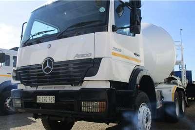 Mercedes Benz 26 28 Atego Mixer Truck