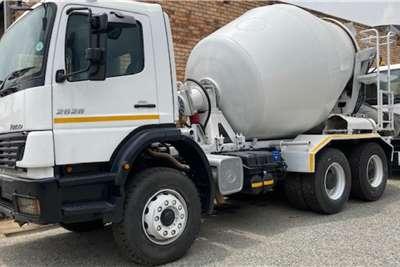 Mercedes Benz 26 28 Atego Mixer 6m Truck