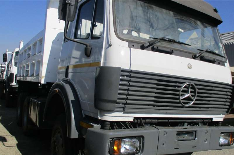 Mercedes Benz Truck 26 29 Powerliner  10 M Tipper 1993