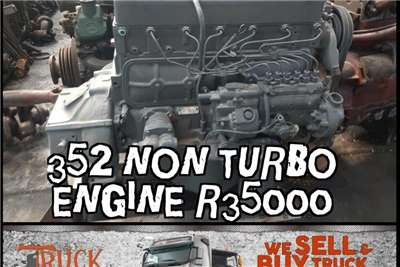 Mercedes Benz 352 non turbo engine Truck