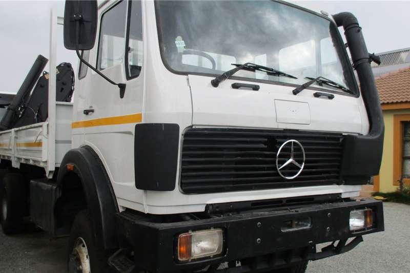 Mercedes Benz Truck 6X6 Merc 26 28 Crane 17 ton 1988