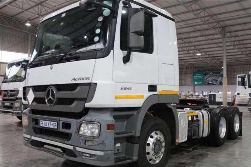 Mercedes Benz Truck Actros 2641LS/33 6x4 Horse 2016