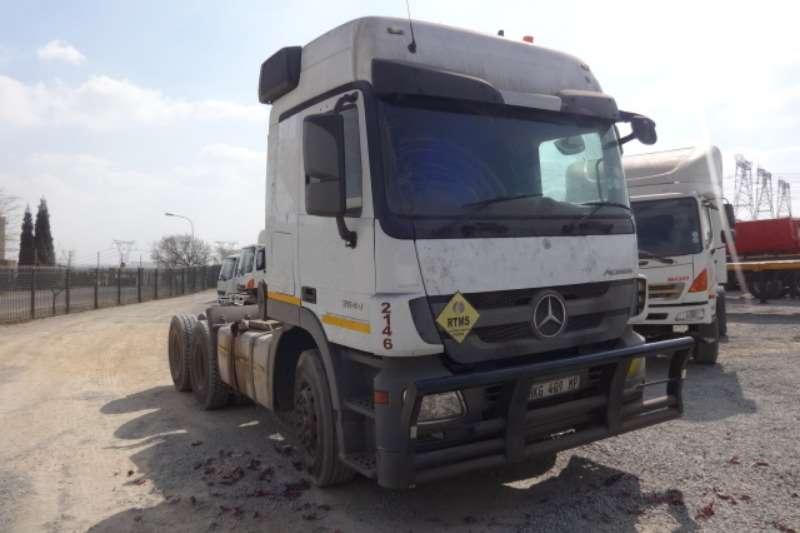 Mercedes Benz Truck Actros 2644 6x4 Mechanical Horse 2014