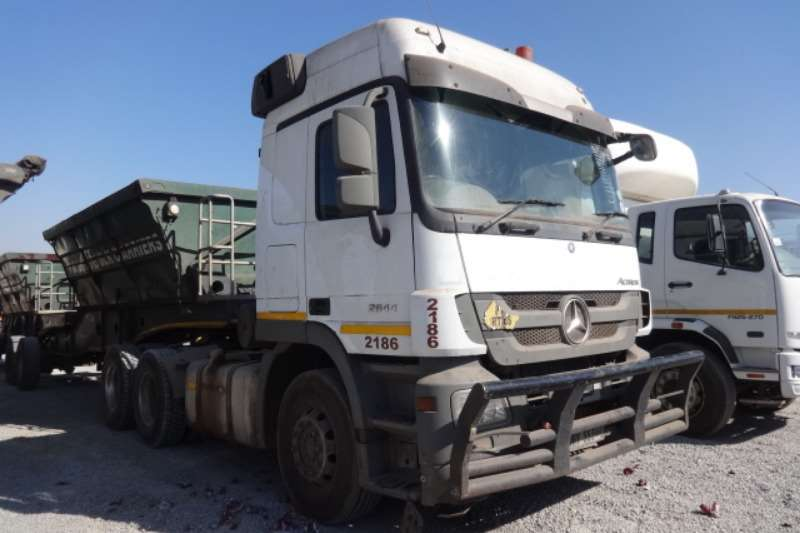 Mercedes Benz Truck Actros 2644 6x4 Mechanical Horse 2015