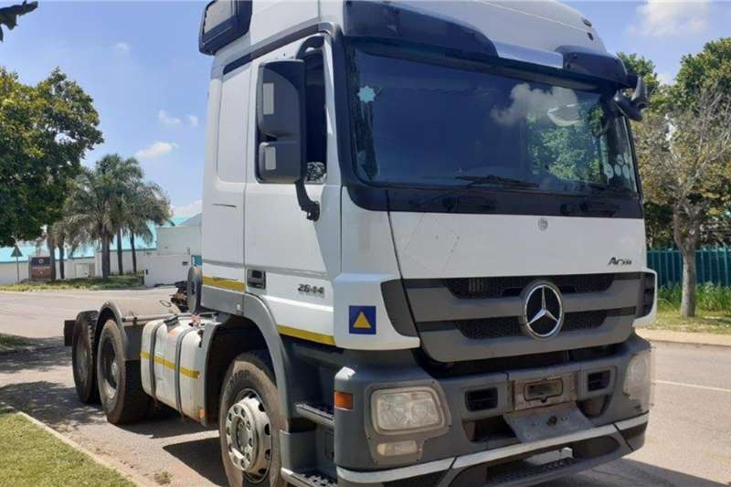 Mercedes Benz Truck Actros 2644 6x4 Mechanical Horse