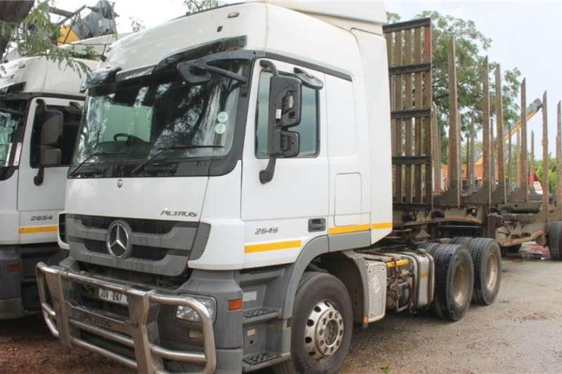 Mercedes Benz Truck Actros 2646 6x4 Horse 2017