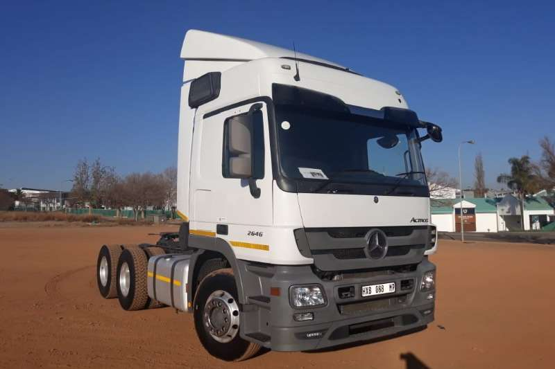 Mercedes Benz Truck Actros 2646 6x4 Mechanical Horse 2016