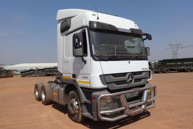 Mercedes Benz Truck Actros 2646 6x4 Mechanical Horse 2016