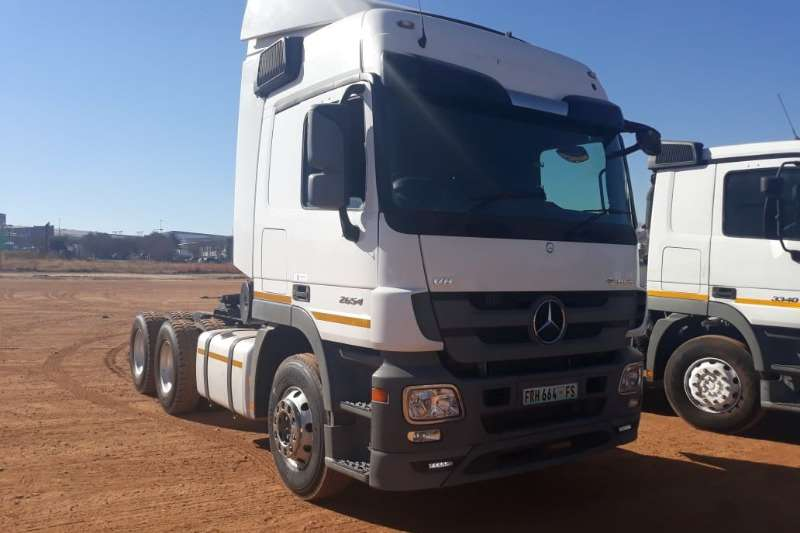 Mercedes Benz Truck Actros 2654 6x4 Mechanical Horse 2015