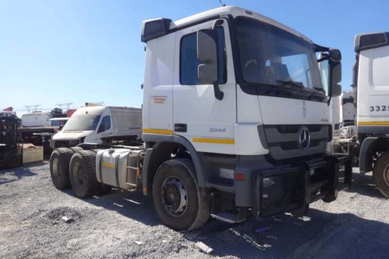 Mercedes Benz Truck Actros 3344 6x4 Mechanical Horse 2013