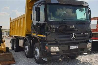 Mercedes Benz Truck Actros 4140 Twin Steer Tipper 2006