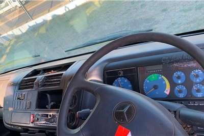Mercedes Benz ATEGO 1517 FLAT DECK WITH CRANE Truck