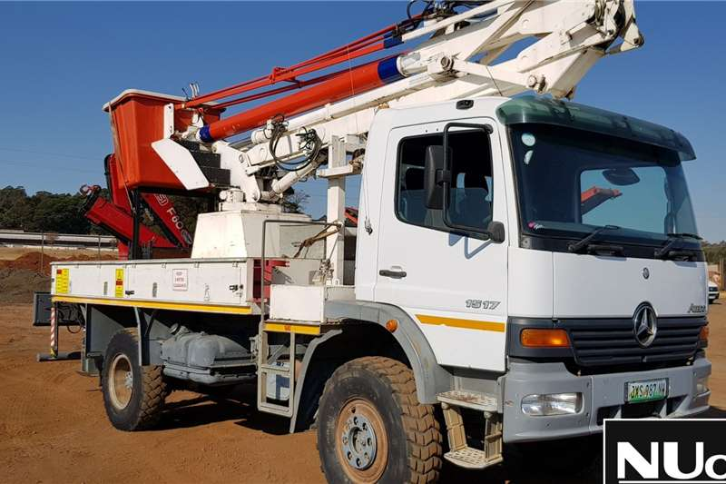 Mercedes Benz Truck ATEGO 1517 WITH FASSI F80 CHERRY PICKER