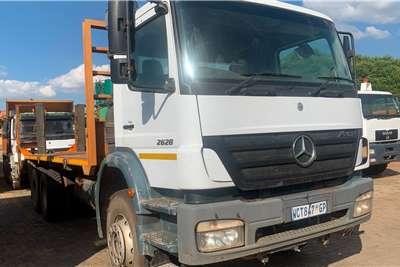 Mercedes Benz AXOR 2628 WITH FLATDECK Truck