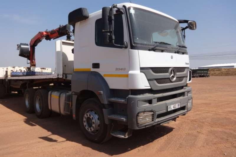 Mercedes Benz Truck Axor 3340 6x4 Mechanical Horse 2016