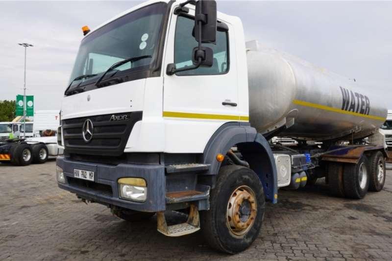 Mercedes Benz Truck Axor 6x4 Water Tanker 2010