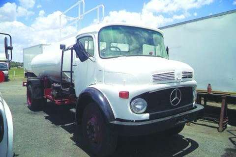 Mercedes Benz Truck Bull Nose 10 - 13- 1981