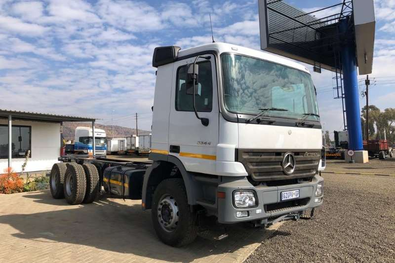 Mercedes Benz Truck Chassis cab 2008 MBenz 3344 Actros LWB Chassis Cab 2008