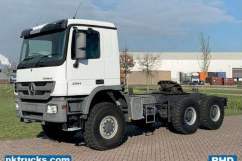 Mercedes Benz Truck Chassis cab 3341 ACTROS AS 6X6 EURO 3 2012