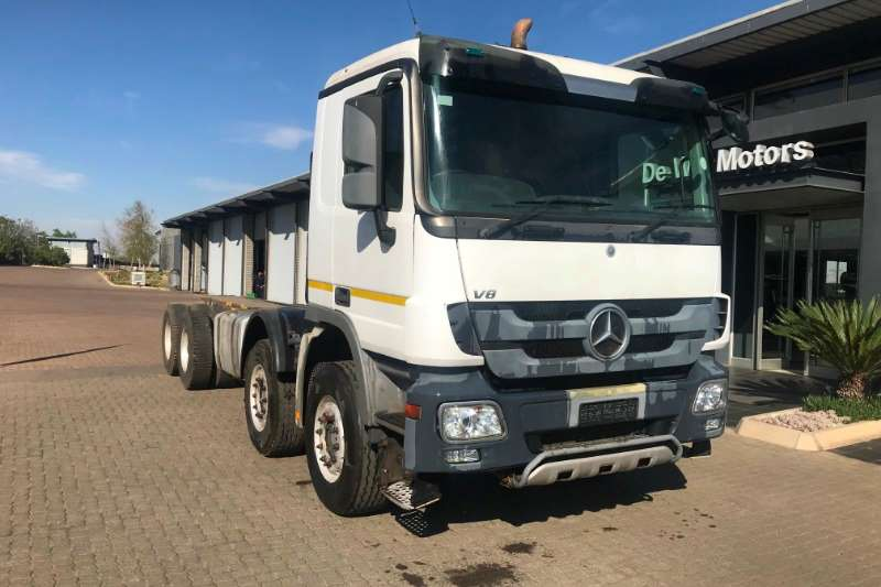 Mercedes Benz Truck Chassis cab Actros 3250 8x4 2012