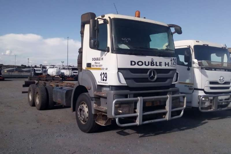 Mercedes Benz Truck Chassis cab AXOR 3340 6x4 Rigid Truck Chassis Cab 2014