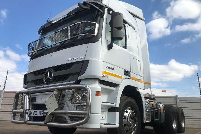 Mercedes Benz Truck Chassis cab MERC BENZ 2646 TT 6X4 2017