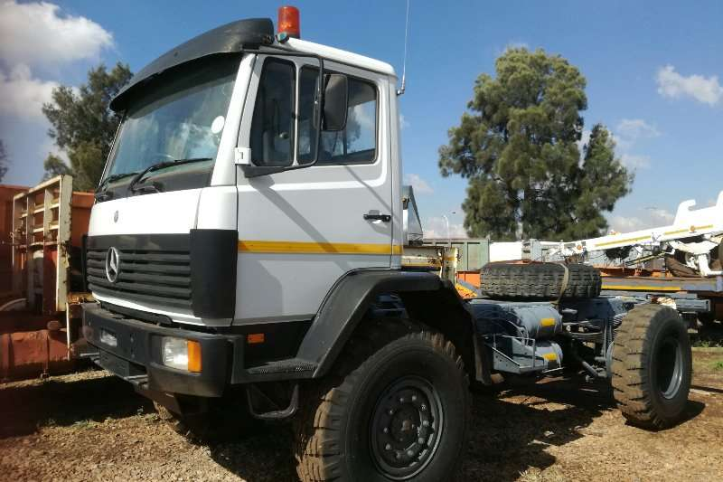 Mercedes Benz Truck Chassis cab Mercedes Benz 1617 4x4 Chassis Cab 1999