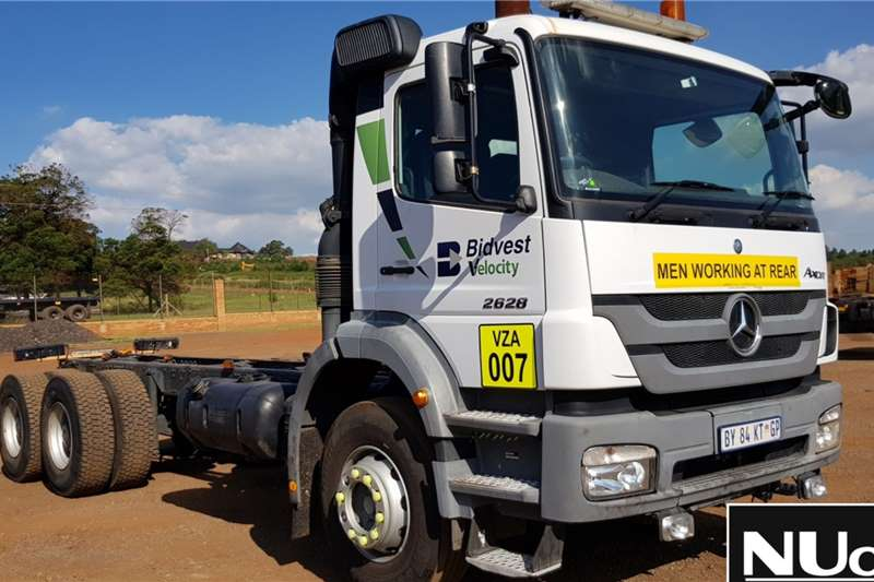 Mercedes Benz Truck Chassis cab MERCEDES BENZ AXOR 2628 CHASSIS CAB 2012