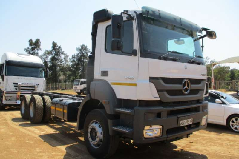 Mercedes Benz Truck Chassis cab MERCEDES BENZ AXOR 3340 CHASSIS CAB