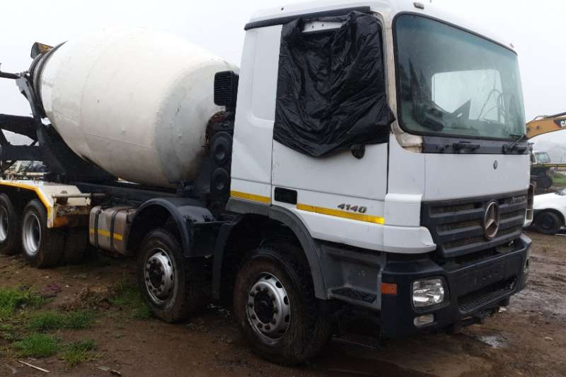 Mercedes Benz Truck Concrete mixer 2006 Mercedes benz actros 4041 accident damage and 2006