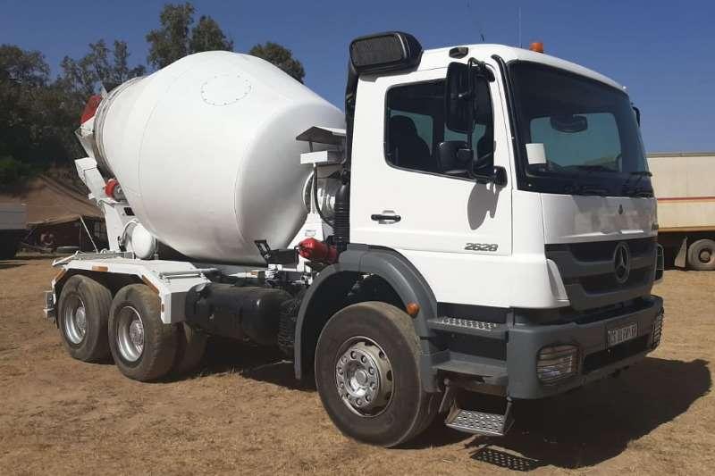 Mercedes Benz Truck Concrete mixer 2628 2013