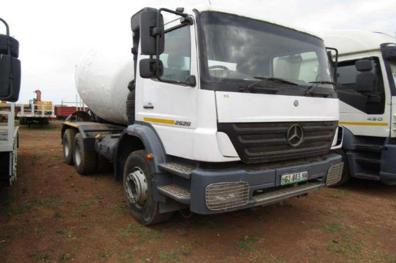 Mercedes Benz Truck Concrete mixer 2628 MIXER 2019