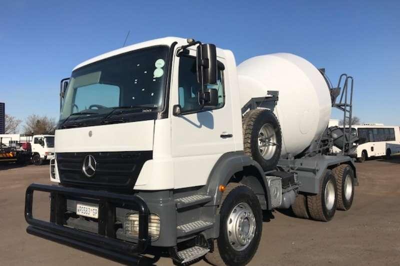 Mercedes Benz Truck Concrete mixer MERCEDES BENZ AXOR 2628 CONCRETE MIXER 6 CUBE 2007