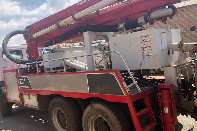 Mercedes Benz Truck Concrete Pump 20 3 M/Benz 22 25 1987