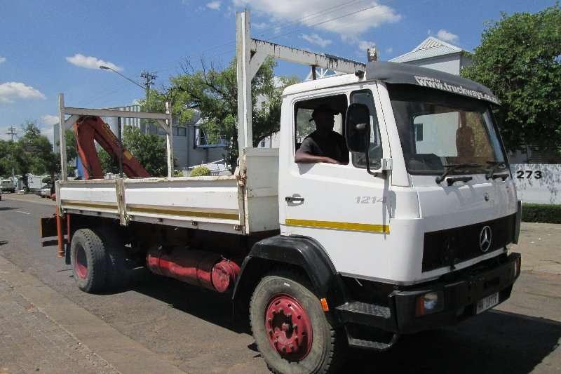 Mercedes Benz Truck Crane Truck 1214 1995