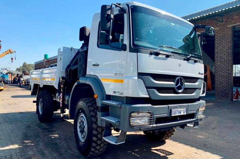 Mercedes Benz Truck Crane Truck Axor 1823 4x4 2011