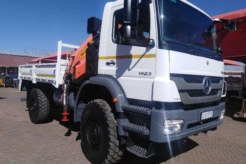 Mercedes Benz Truck Crane truck AXOR 1823 4X4 WITH PK12000 CRANE 2011